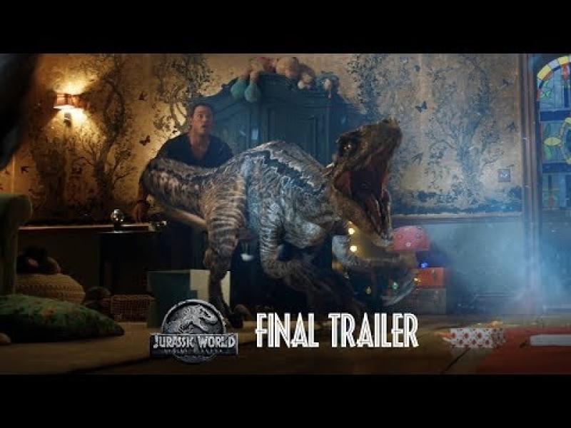 Jurassic World: Fallen Kingdom Trailer 2